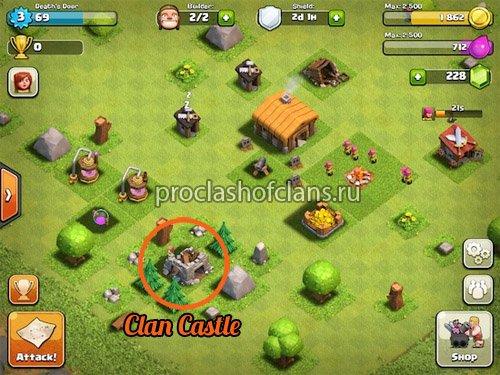 Как вступить в клан в clash of clans